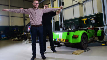 Long-term test review: Caterham 270S measurements