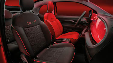 Fiat 500(RED) - seat combination 3