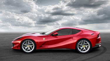 Ferrari 812 Superfast side