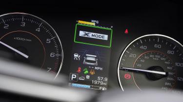 Subaru XV - dials
