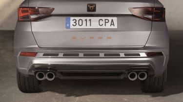 Cupra Ateca - rear exhausts