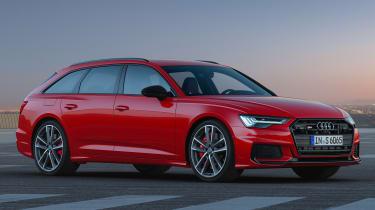 Audi S6 Avant mild-hybrid - front static