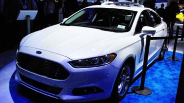 Ford self driving car