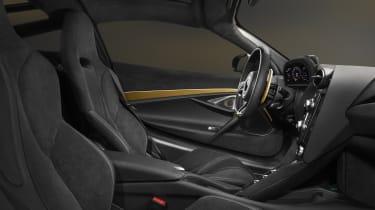 McLaren 720S Dubai interior
