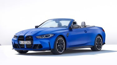 BMW M4 Competition Convertible - front static
