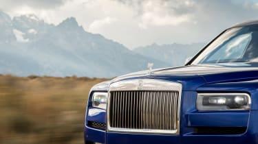 Rolls-Royce Cullinan - grille