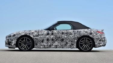 BMW Z4 prototype - roof up