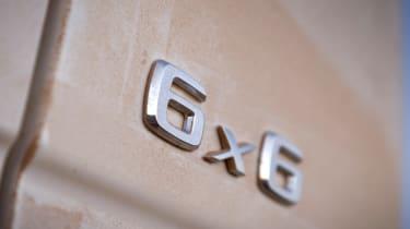 Mercedes G63 AMG 6x6 badge