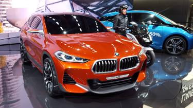 New BMW X2 concept at Paris 2016 nose