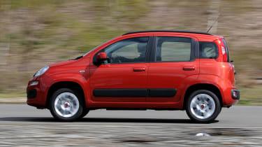 Fiat Panda panning
