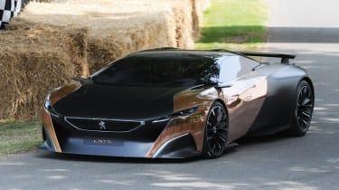Peugeot Onyx at Goodwood
