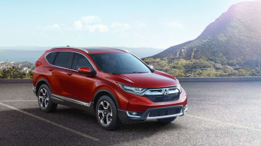 New Honda CR-V - front three quarter