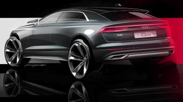 Audi Q8 teaser - rear