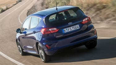 Ford Fiesta ST-Line - rear cornering