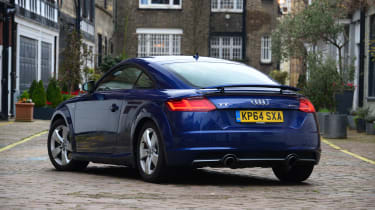 Audi TT long-termer - rear static