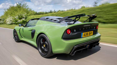 Lotus Exige Sport 410 - rear action