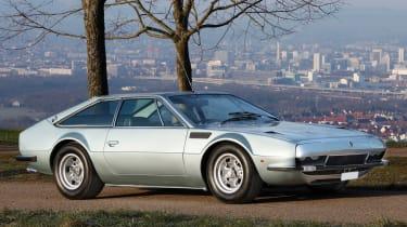 RM Sotheby's 2017 Paris auction - 1970 Lamborghini Jarama 400 GT front