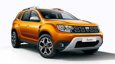 Dacia Duster - front static
