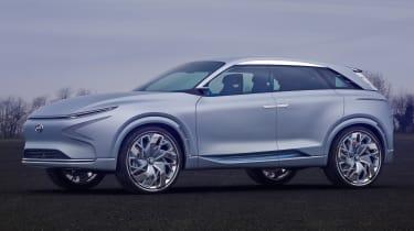 Hyundai FE Fuel Cell Concept - front quarter