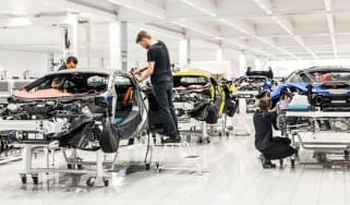 McLaren production line