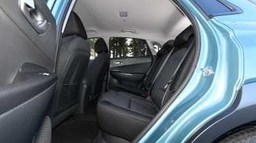 Hyundai Kona Electric - rear seats