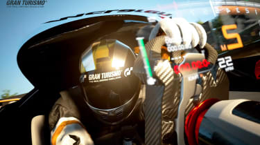 McLaren Ultimate Vision Gran Turismo - driving