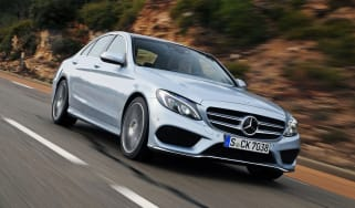 Mercedes C-Class 2014 front tracking