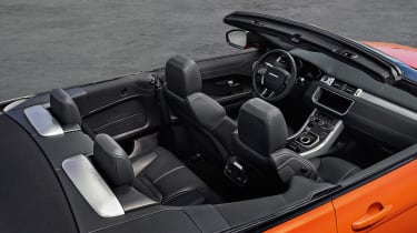 Range Rover Evoque Convertible inside