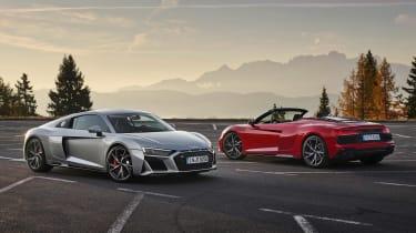 Audi R8 RWD - range