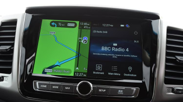 SsangYong Rexton long term - first report sat-nav