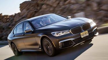 BMW 7 Series 760Li - front tracking