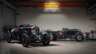 Bentley Blower continuation - front studio