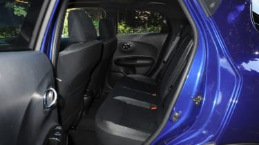 New Nissan Juke 2014 rear seats