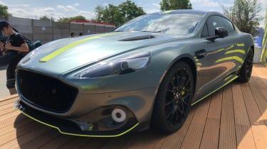 Aston Martin Rapide AMR - Le Mans front