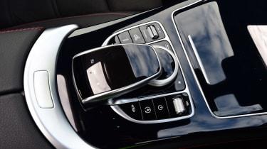 Mercedes-AMG GLC 43 Coupe - centre console