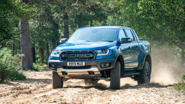 Ford Ranger Raptor - front off-road