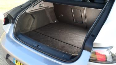 Peugeot 508 Fastback - boot