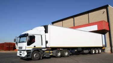 HGV refrigerated truck