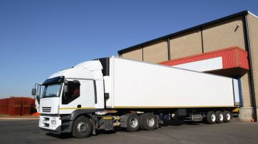 HGV refrigerated truck
