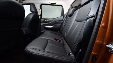 Nissan Navara - rear seats