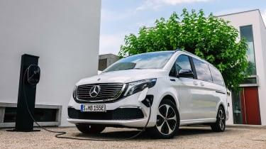Mercedes EQV - front charging