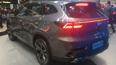 Frankfurt - Chery Exeed TX - rear
