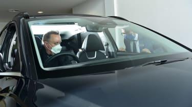 Hyundai Tucson Ultimate Hybrid - first report in-car