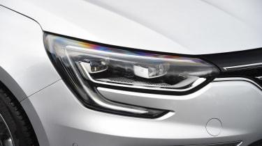 Renault Megane - front light detail