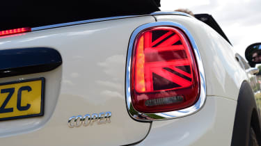 Mini Cooper Convertible Rearlight