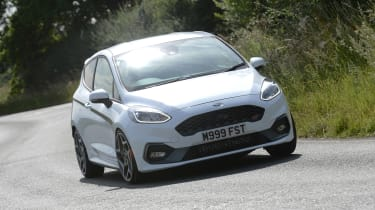 Ford Fiesta ST M225 - front cornering