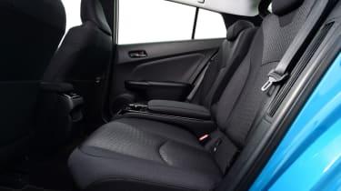 Toyota Prius - rear seats