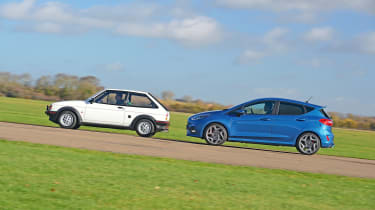Ford Fiesta XR2 vs Ford Fiesta ST - side by side