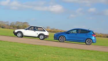 Ford Fiesta XR2 vs Ford Fiesta ST - side by side