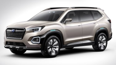 Subaru VIZIV-7 SUV Concept - front